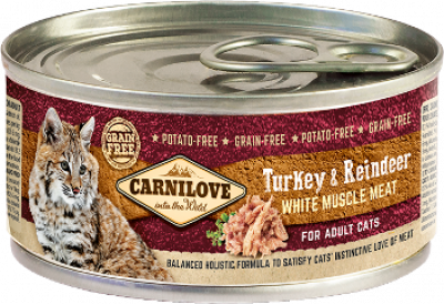 Turkey & Reindeer for adult cats