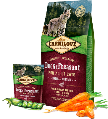 Duck & Pheasant for adult cats