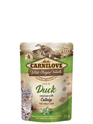 Rich in Duck enriched with Catnip