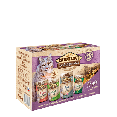 Carnilove cat pouch MULTIPACK