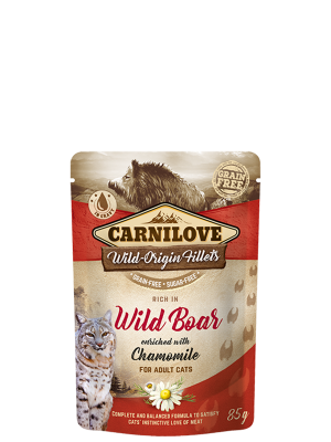 Rich in Wild Boar enriched with Chamomile